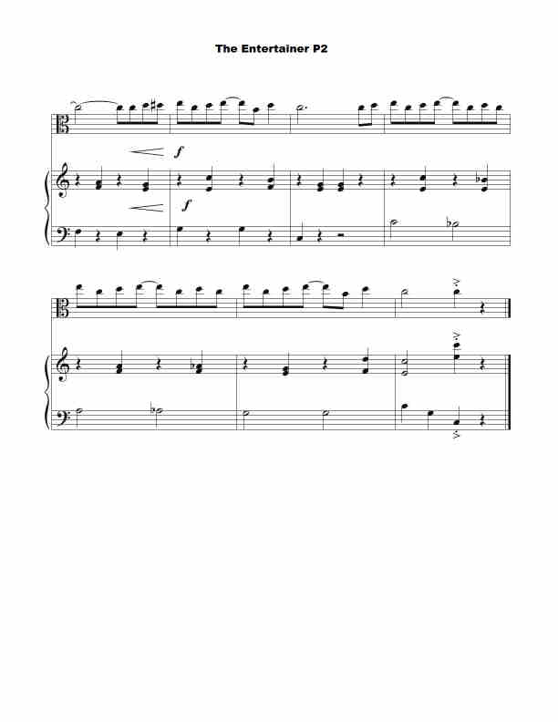 Free Viola Sheet-music | Violaman.com