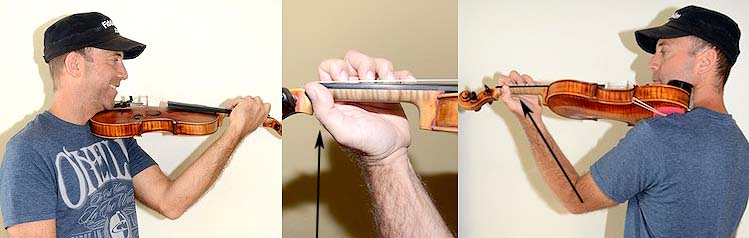 How to hold your viola